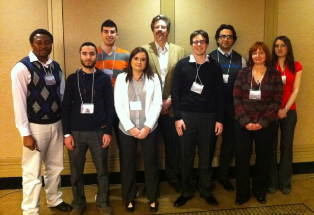 KEGS Foundation Scholarship Students at the March 3rd, 2012 KEGS Symposium in Toronto