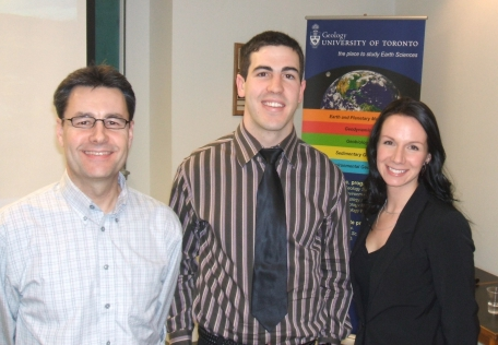 Chris Vaughan, Bill Spicer, and Madeline Lee (McMaster)
