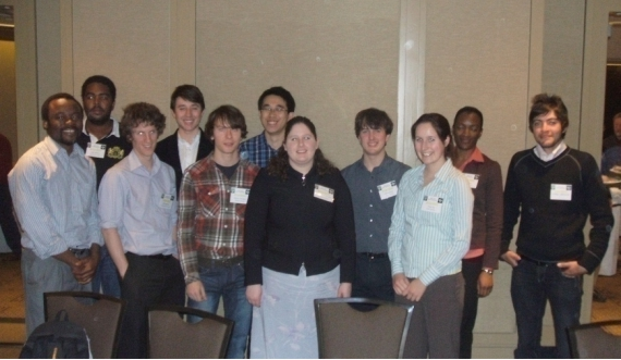 Students attending the recent KEGS Geophysical Symposium
